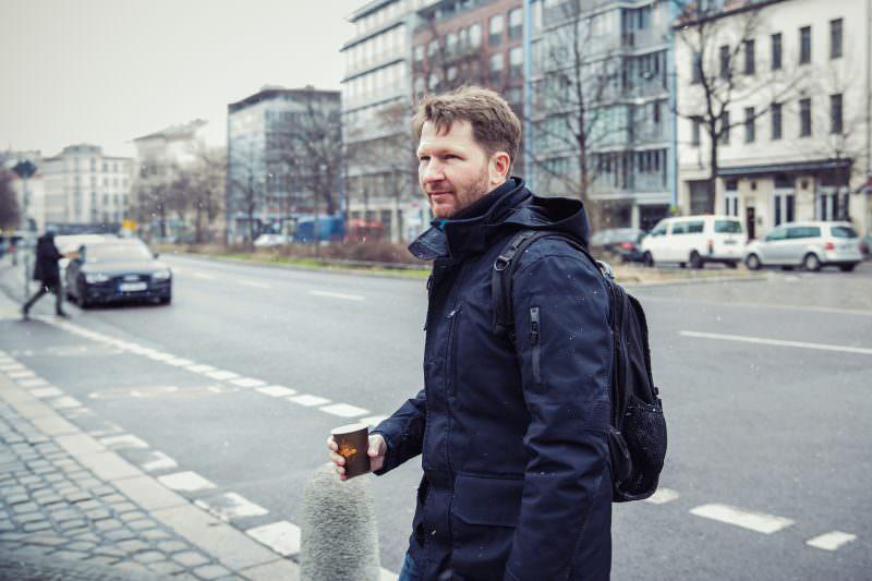 Im Bild Trent McConaghy Gründer und CTO von Ocean Protocol. In Berlin Prenzlauer Berg rund um den Seenefelder Platz.